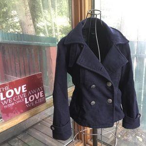 Gap Military style wool coat